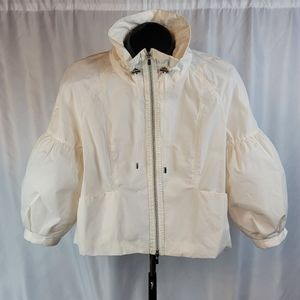 Kenneth Cole Bubble Sleeve Swing Jacket Size Small